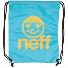 Neff Cinch Sack turquoise/yellow