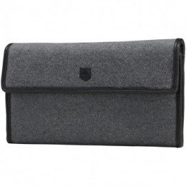 Burton Tri Fold grey wool