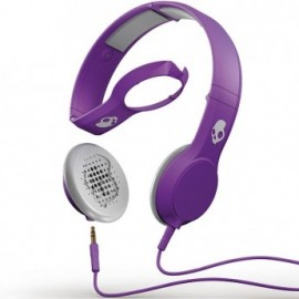 Skullcandy Cassette athletic purple w/Mic