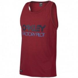 Oakley FP - Mesh Tank Top barberry dark heather