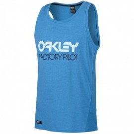 Oakley FP - Mesh Tank Top pacific blue light heather