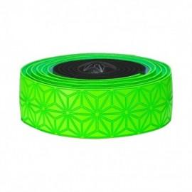 Supacaz Super Sticky Kush neon green star fade
