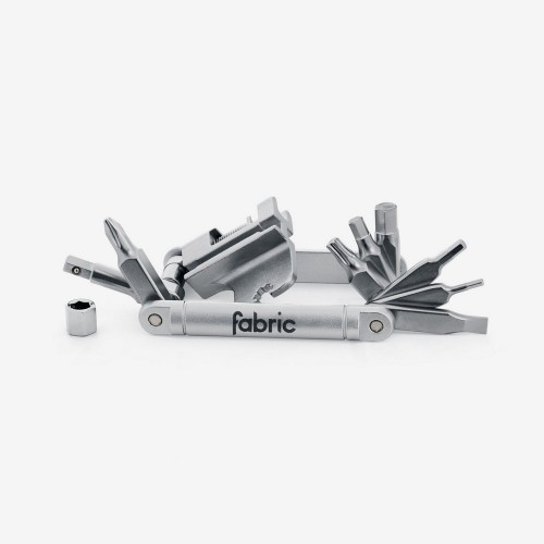 Fabric 16 in 1 Mini Tool silver