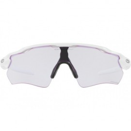 Oakley Radar EV Path polished white - prizm lowlight