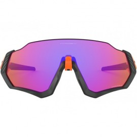 Oakley Flight Jacket matte black/orange - prizm trail