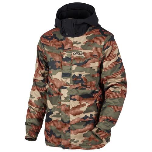 Oakley Division 10K Biozone Insulated Jacket warning camo