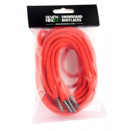 Sevennine13 Snowboard Bootlaces red
