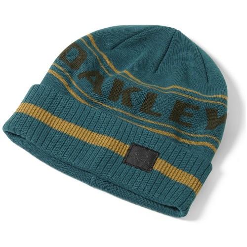 Oakley Rockgarden Cuff Beanie aurora blue