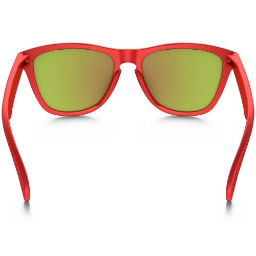 Oakley Frogskins matte red - fire iridium