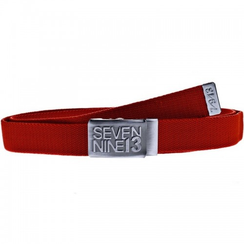 Sevennine13 Jaws Stretch Belt red