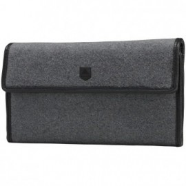 Burton Tri Fold grey wool