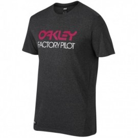 Oakley FP Basic Graphic Tee jet black heather