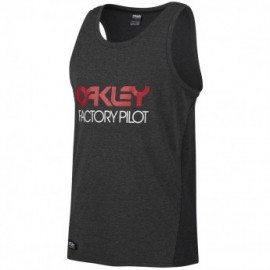 Oakley FP - Mesh Tank Top jet black heather