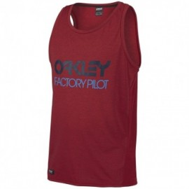 Oakley FP - Mesh Tank Top barberry dark heather