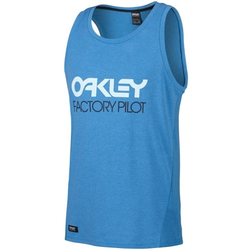 Oakley FP - Mesh Tank Top pacific blue light heather