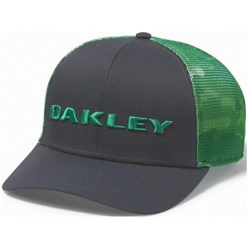 Oakley Tech Trucker Print Golf Hat parakeet