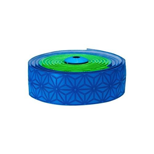 Supacaz Super Sticky Kush neon green & neon blue