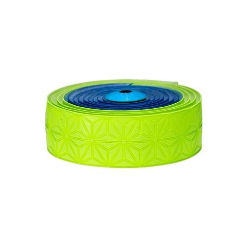Supacaz Super Sticky Kush neon blue & neon yellow