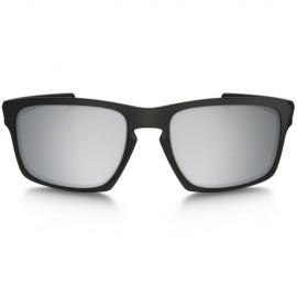 Oakley Sliver Machinist matte black - chrome iridium