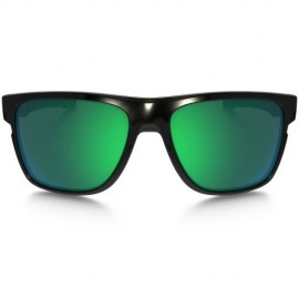 Oakley Crossrange XL polished black - jade iridium