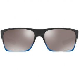 Oakley Two Face blue pop fade - prizm black polarized
