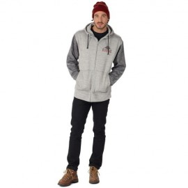 Burton Oak Full-Zip monument heather/true black heather