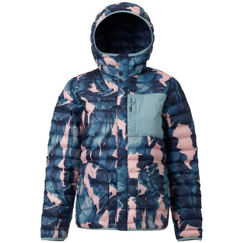 Burton Aliz Evergreen Down Hooded Insulator zolatta