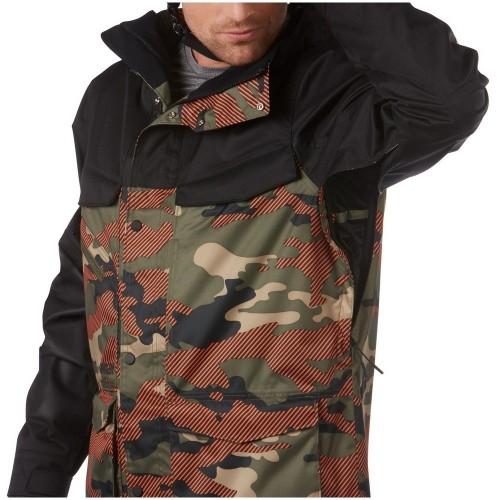 Oakley Timber 15K Biozone Shell Jacket warning camo