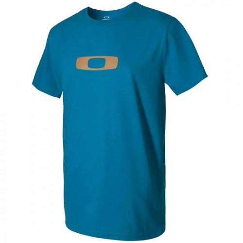 Oakley Square Me Tee aurora blue
